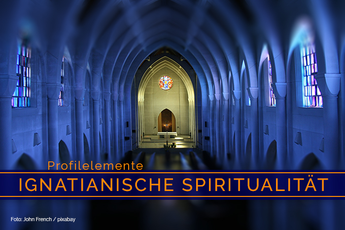 Profilelement »Ignatianische Spiritualität«