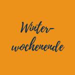 Winterwochenende
